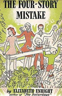<i>The Four-Story Mistake</i> American childrens novel, 1942, second in the Melendy family series