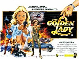 Ina Skriver - Skriver featured in poster for The Golden Lady