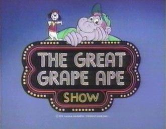 The Great Grape Ape Show - Image: The Great Grape Ape Show card
