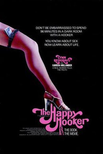 The Happy Hooker (film) - Theatrical release poster