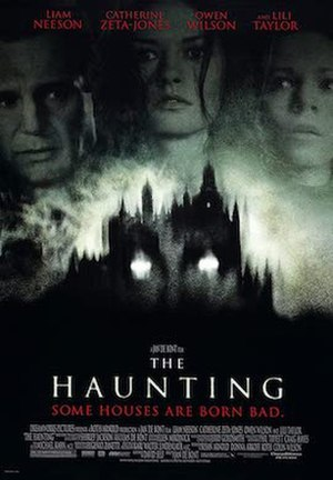 The Haunting (1999 film) - The Haunting film poster