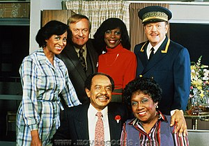 300px The Jeffersons in 1984 Jeffersons Star Sherman Hemsley Still Not Buried Due to Dispute Over Who Gets Remains