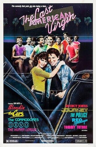 The Last American Virgin - Original film poster