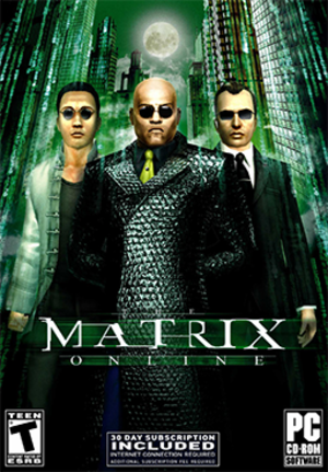 The Matrix Online - Image: The Matrix Online Coverart
