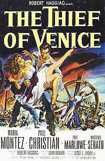 <i>The Thief of Venice</i> 1950 Italian film directed by John Brahm