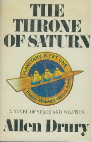 The Throne of Saturn (novel) - First edition