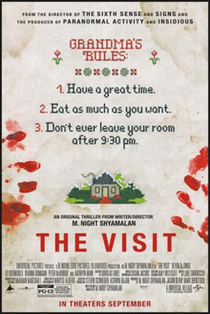 The Visit (2015 American film) - Theatrical release poster