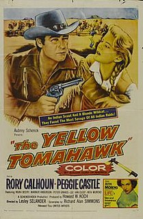 <i>The Yellow Tomahawk</i> 1954 film by Lesley Selander
