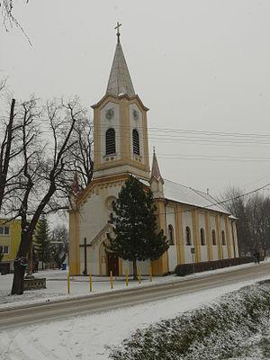 Leopoldov - Image: The church in Leopoldov 2