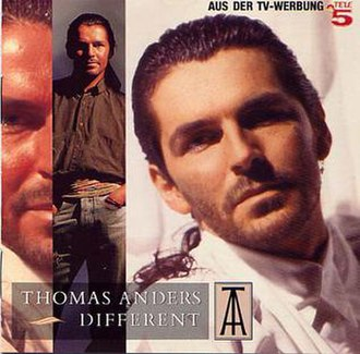 Different (Thomas Anders album) - Image: Thomas anders different cover