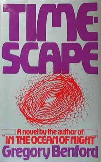 Timescape - Cover of first edition (hardcover)