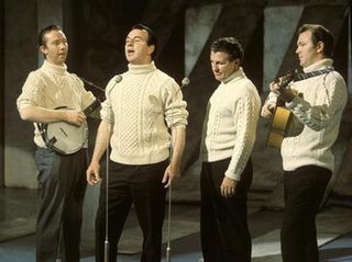 The Clancy Brothers Irish folk band