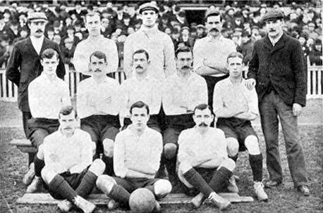 Tottenham hotspur 1901 team