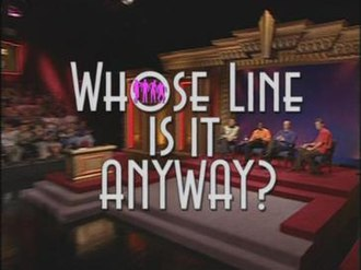 Whose Line Is It Anyway? (U.S. TV series) - The title card of seasons 1–8 of Whose Line Is It Anyway?