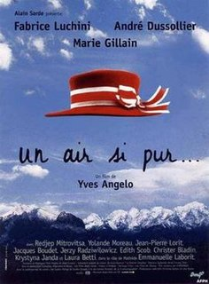 <i>An Air So Pure</i> 1997 French film directed by Yves Angelo