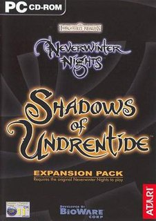 <i>Neverwinter Nights: Shadows of Undrentide</i> expansion pack