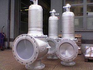Safety valve - ND250-safety valves