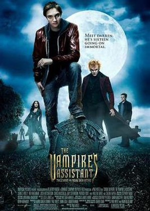 Cirque du Freak: The Vampire's Assistant - Theatrical release poster