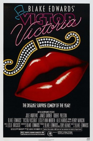 Victor/Victoria - Theatrical release poster by John Alvin