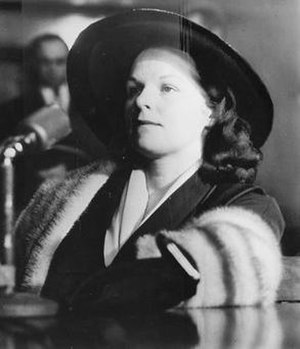 Virginia Hill - Hill at the Kefauver Committee, 1951.