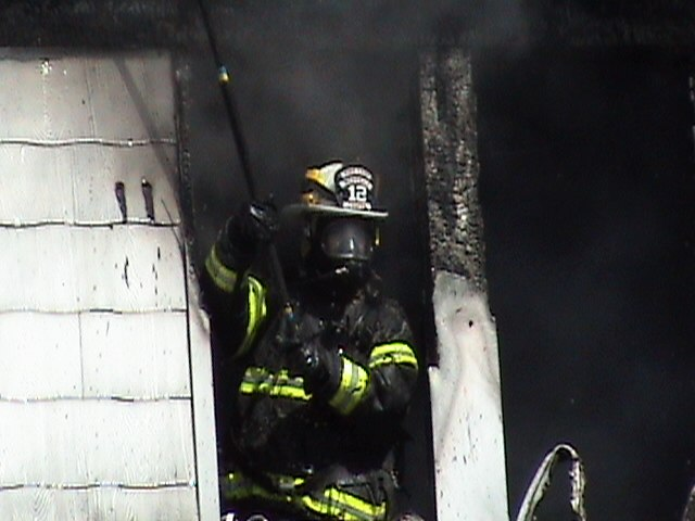 Volunteer Fire Fighter