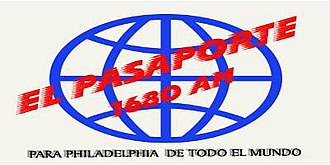 "WTTM - WTTM former logo branded ""El Pasaporte"" from previous format World Ethnic."