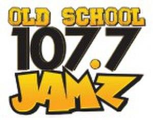 WUKS - Image: WUKS Old School 107.7JAMZ logo