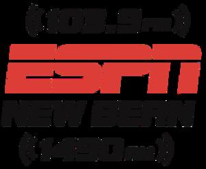 WWNB - Image: WWNB ESPN1490 103.9 logo