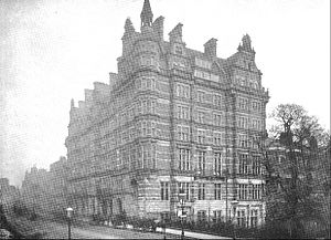 Walsingham House - The hotel circa 1896