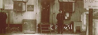 History of the Ministry of Defence Police - A War Office Constabulary post circa 1939