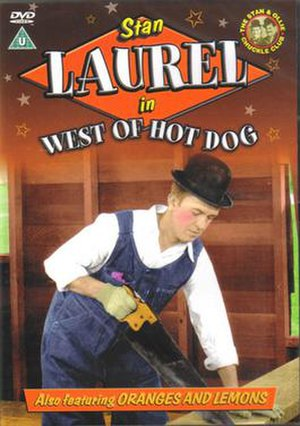 West of Hot Dog - DVD cover
