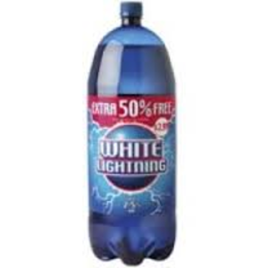 White Lightning (cider) - White Lightning bottle