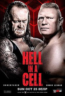 Hell in a Cell (2015) 2015 WWE pay-per-view and WWE Network event