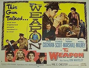 "The Weapon (film) - Image: ""The Weapon"" (1956)"