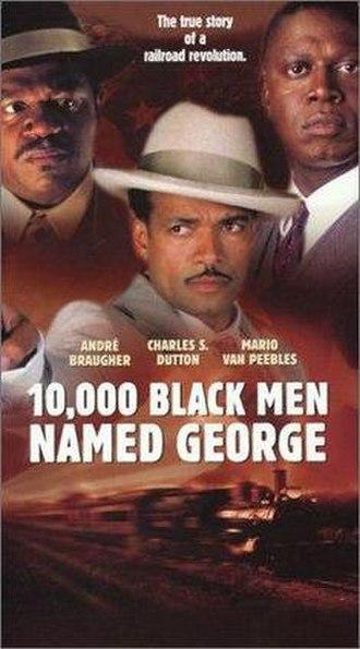 10,000 Black Men Named George - Image: 10000Black Men Named George