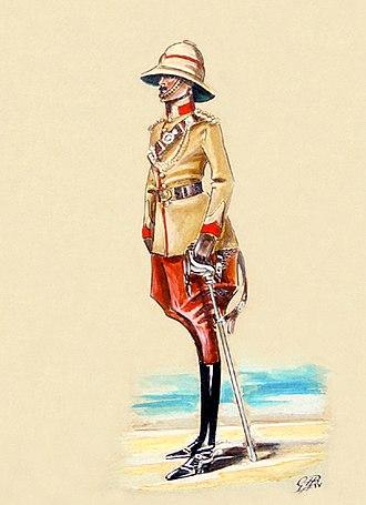 124th Duchess of Connaught's Own Baluchistan Infantry - Image: 124th Baluchistan Infantry c. 1911