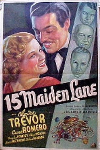 15 Maiden Lane - Promotional poster for 15 Maiden Lane