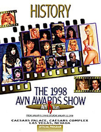 15th AVN Awards - History: The 1998 AVN Awards Show program cover