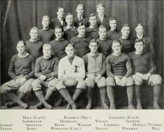1912 Illinois Fighting Illini football team - Image: 1912 Illinois Fighting Illini football team