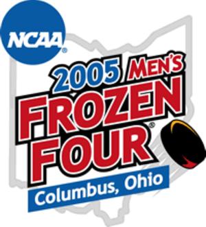 2005 NCAA Division I Men's Ice Hockey Tournament - 2005 Frozen Four logo