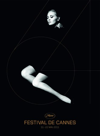 2011 Cannes Film Festival - Official poster of the 64th Cannes Film Festival featuring a 1970 photo of American actress Faye Dunaway