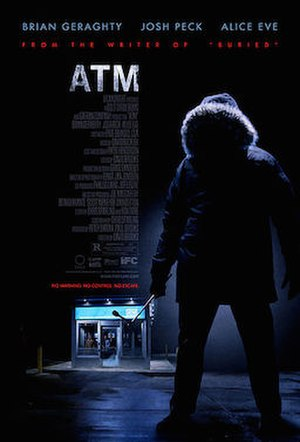 ATM (2012 film) - theatrical release poster