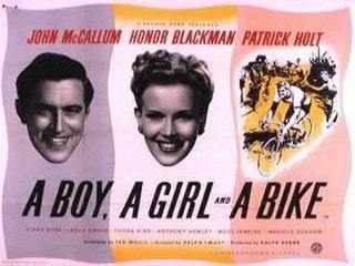 <i>A Boy, a Girl and a Bike</i> 1949 film by Ralph Smart