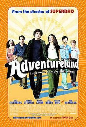 Adventureland (film) - Theatrical release poster