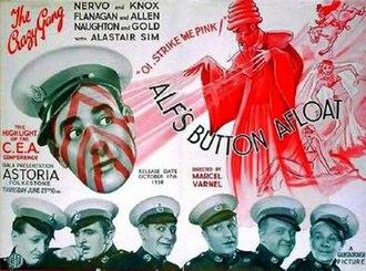 Alf's Button Afloat - Original British trade ad
