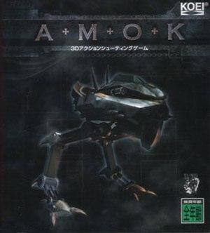 Amok (video game) - Image: Amok game cover jp