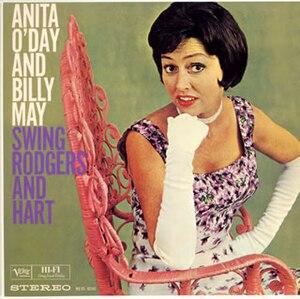 Anita O'Day and Billy May Swing Rodgers and Hart - Image: Anitabillyrodg