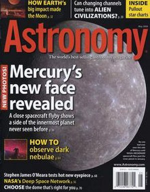 Astronomy (magazine) - May 2008 cover of Astronomy