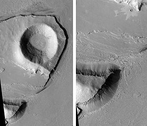 Athabasca Valles - Image: Athabasca Valles Streamlined Form