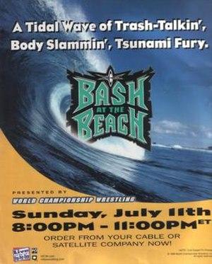 Bash at the Beach (1999) - Image: Bash At The Beach 1999 Poster